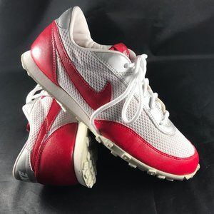 Mint Cond. VINTAGE NIKE Waffle Racer 7.5 US Red